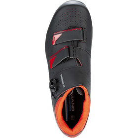 Shimano SH-RP400M Chaussures Homme, black/orange red